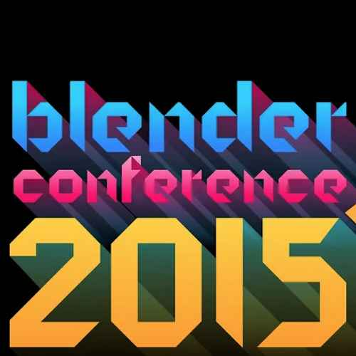 The logo of the Blender Conference 2015